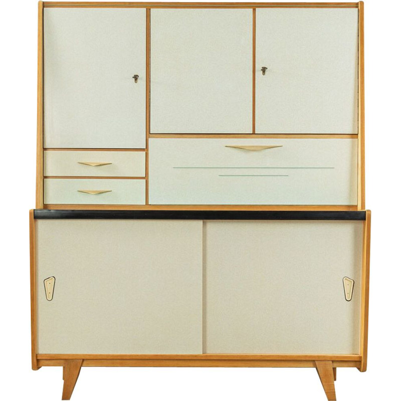 Vintage ash Kitchen Cabinet, Germany 1950s