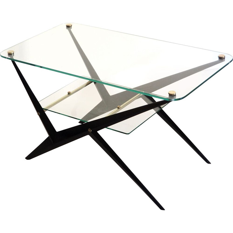 Vintage coffee table by Angelo Ostuni, Italy 1950s