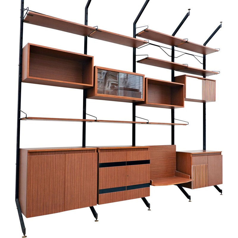 "Vintage Wall unit model ""Urio"" by Ico Parisi for MIM"