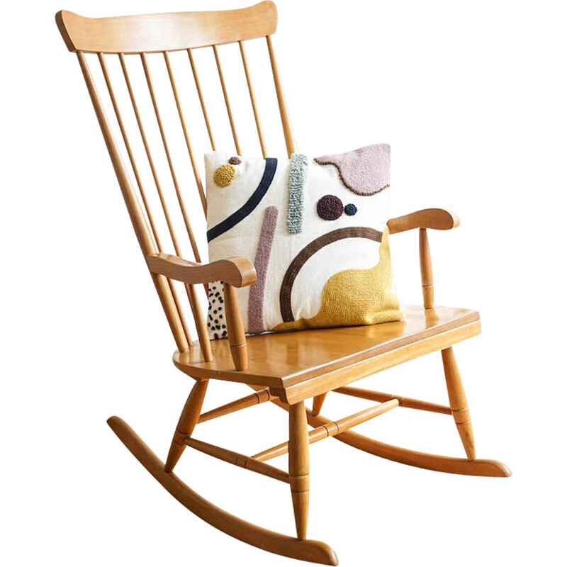 Vintage rocking chair, Scandinavian 1960s