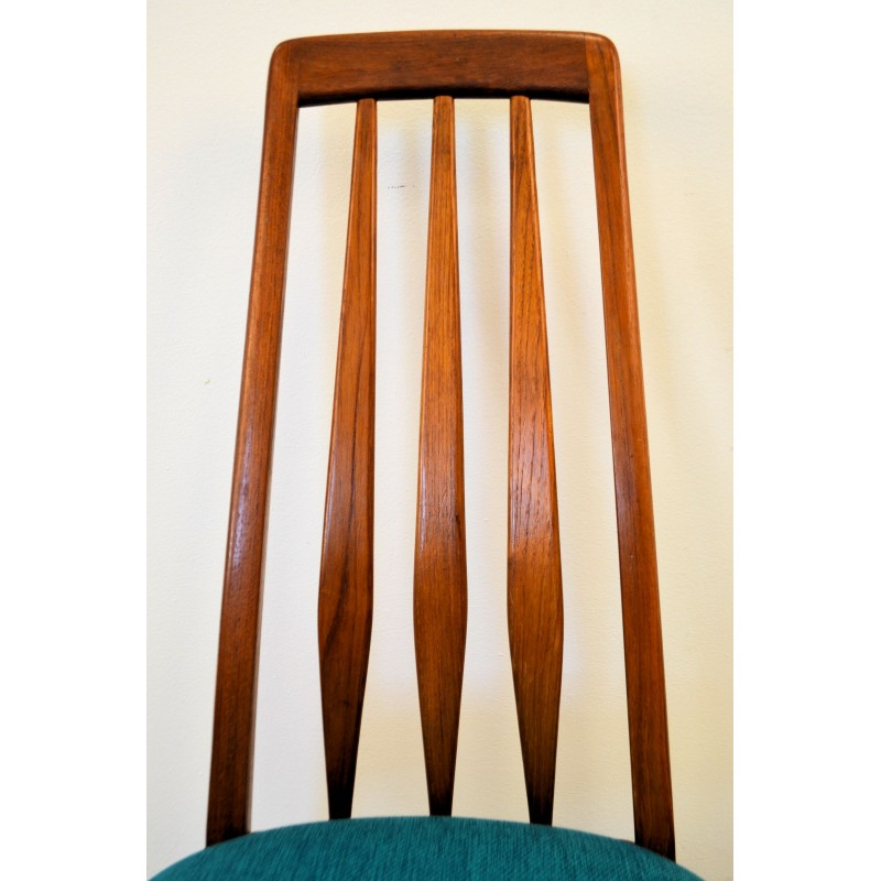 Set Of 4 Koefoeds Hornslet Quot Eva Quot Dining Chairs In Teak