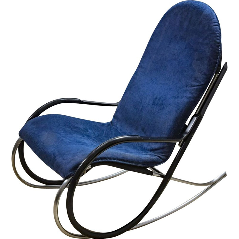 Vintage Rocking Chair By Paul Tuttle, Switzerland 1997s