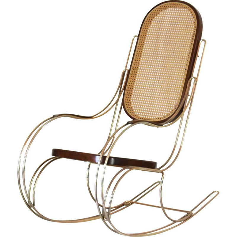 Vintage rocking chairs thonet 1970s