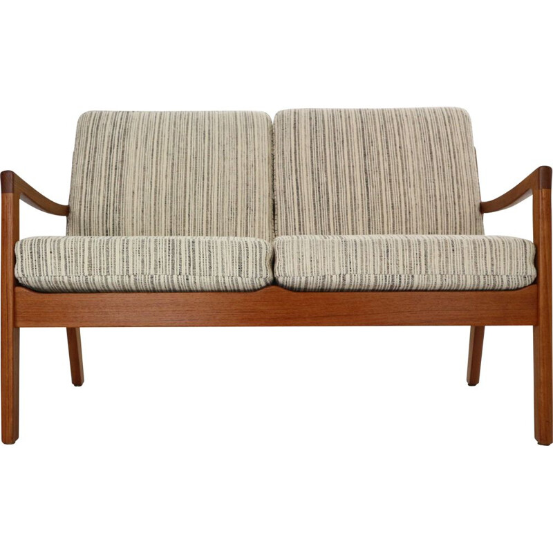Vintage Senator 166 Teak 2-Seater Sofa by Ole Wanscher for France & Son, Denmark 1960s