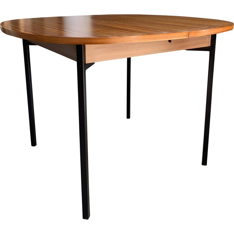 Vintage table with TRC20 system by Pierre Guariche 1960s