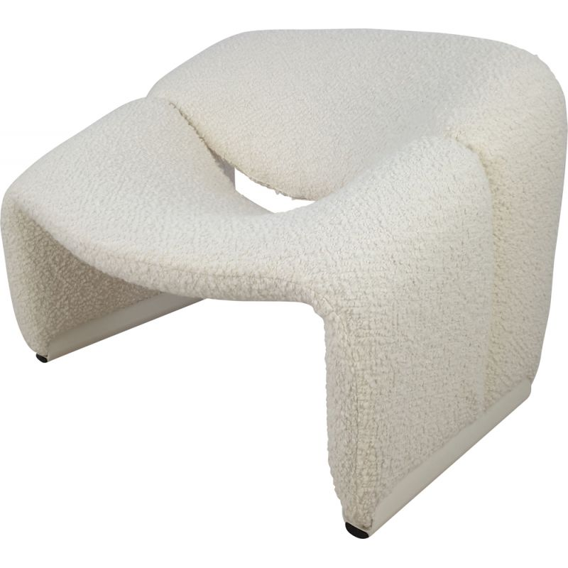 Vintage F598 Groovy Chair by Pierre Paulin for Artifort 1980s
