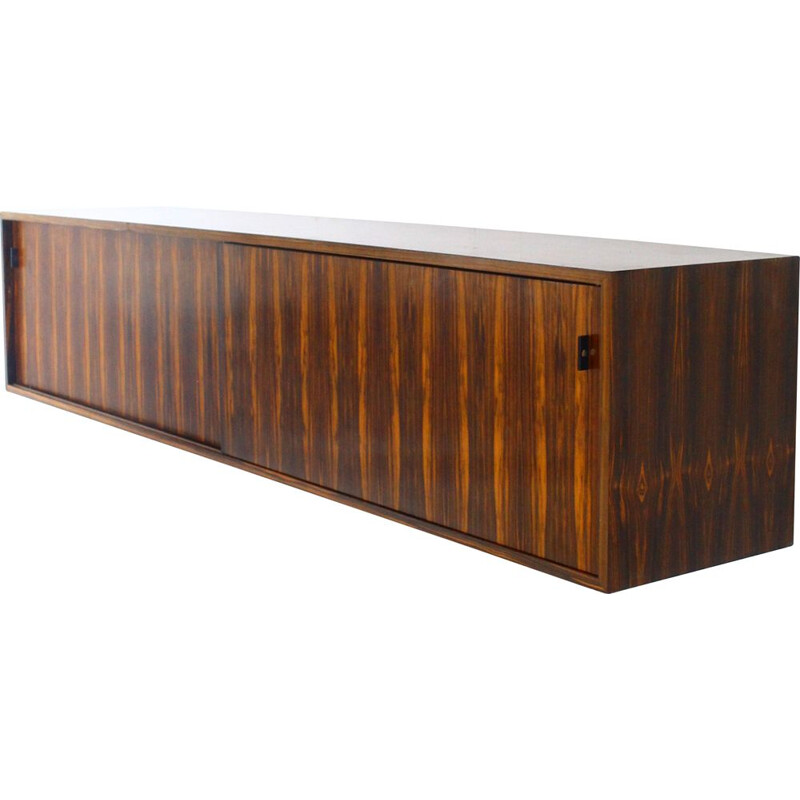 Large vintage floating cabinet by Florence Knoll, Belgium 1970s