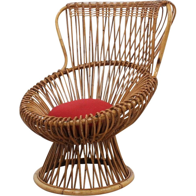 Vintage Margherita chair by Franco Albini 1950s