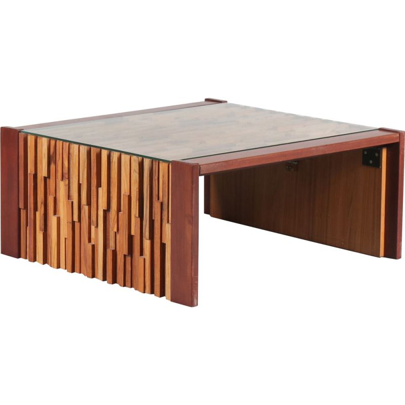 Vintage Coffee Table by Percival Lafer, Brazil 1960s