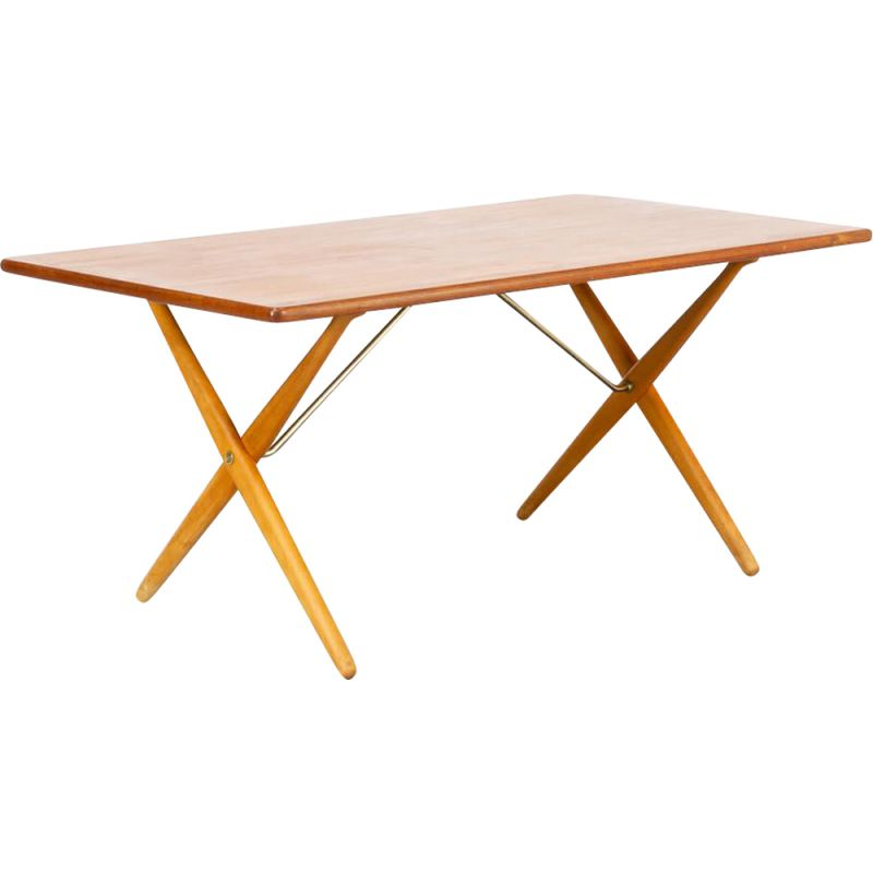 """Vintage """"AT-303"""" dining table by Hans J. Wegner for Andreas Tuck, Danish 1960s"""