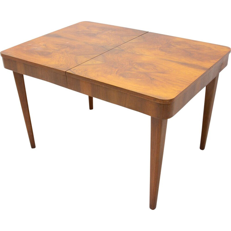 Vintage Dining Table by Jindřich Halabala, Czechoslovakia 1950s