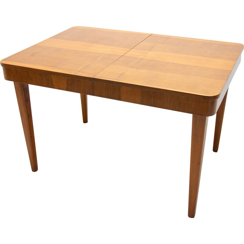 Vintage adjustable Dining Table by Jindřich Halabala 1950s