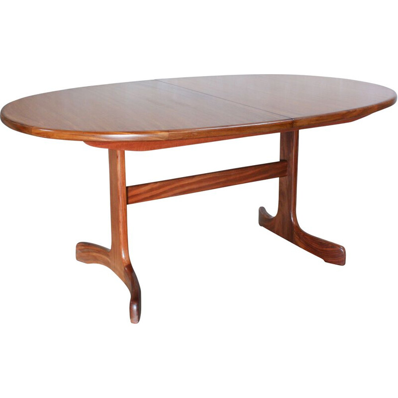 Vintage Extendable Teak Oval Dining Table from G-Plan, United Kingdom 1960s