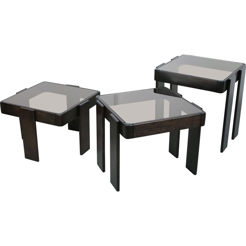 Vintage Coffee tables by Gianfranco Frattini 1960s