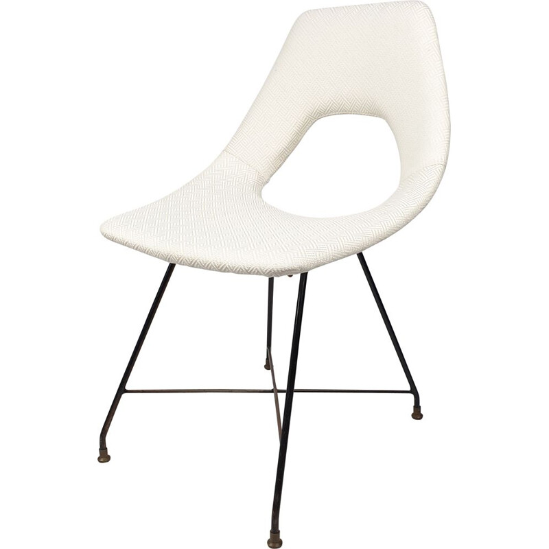 Vintage Cosmos Dining Chair by Augusto Bozzi for Saporiti, Italia 1950s
