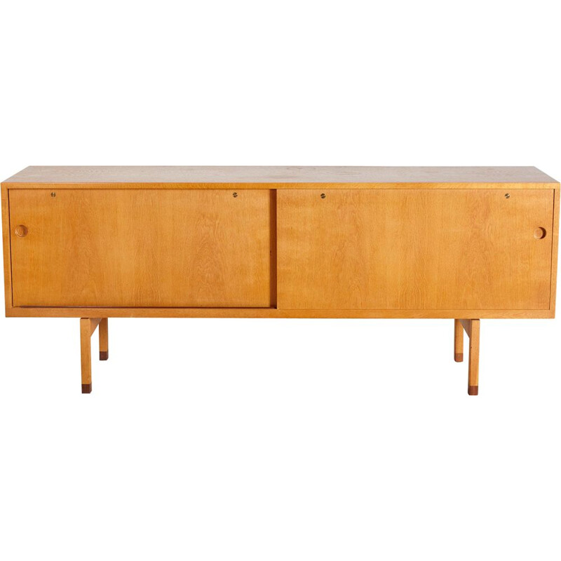 Vintage Model RY 26 Teak Sideboard by Hans J. Wegner for Ry Møbler, 1960s