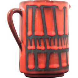 Small jug in Vallauris ceramic, Roger CAPRON - 1960s