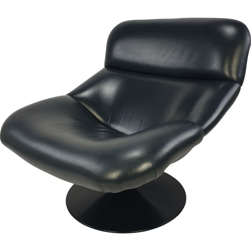 Vintage Model F518 Lounge Chair by Geoffrey Harcourt for Artifort, 1970s