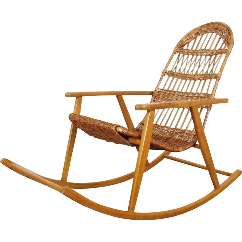 Rocking chair vintage by ULUV