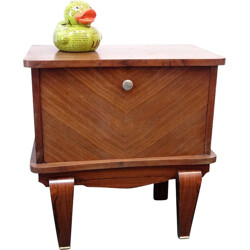 Night stand in wood - 1940s