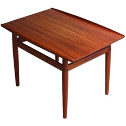 Scandinavian Glostrup coffee table in teak, Grete JALK - 1960s