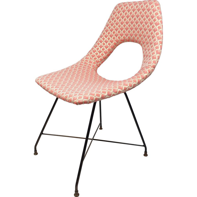 Vintage Cosmos chair by Augustus Bozzi for Saporiti, Italy 1950