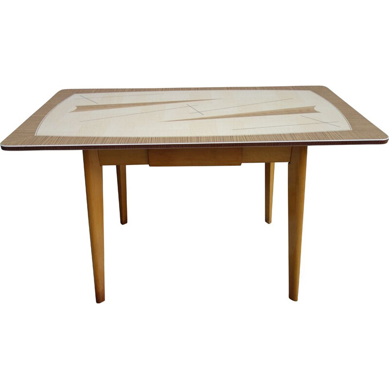 Vintage table Formica 1960s