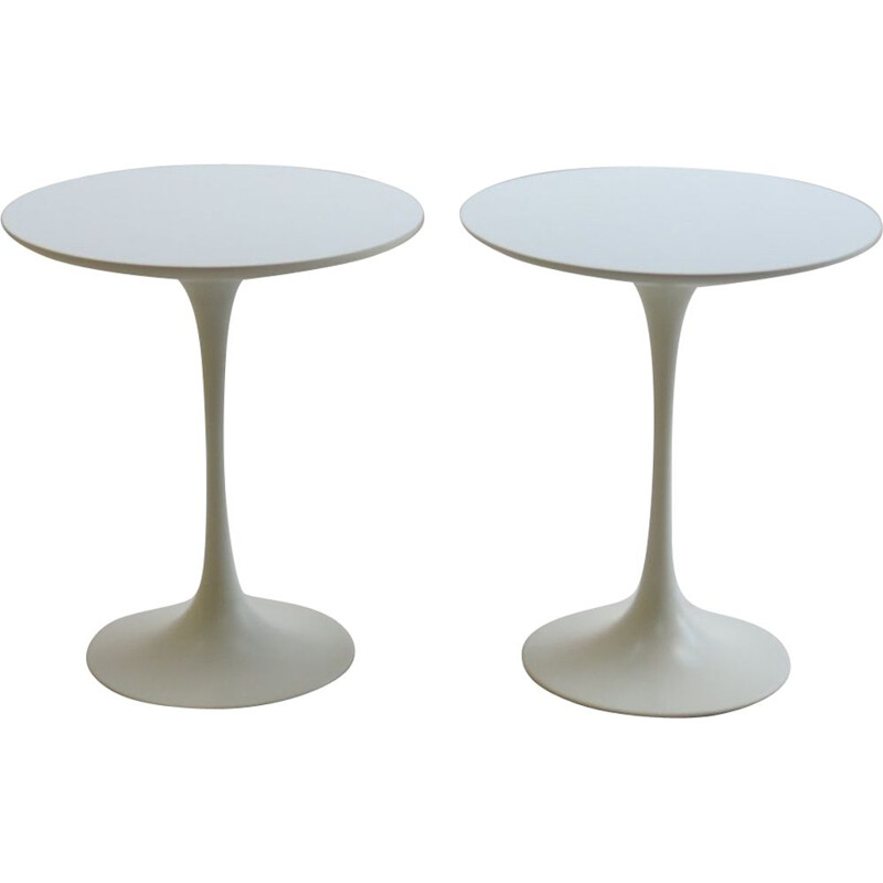 vintage Pair of  side tables by Maurice Burke UK 1960s