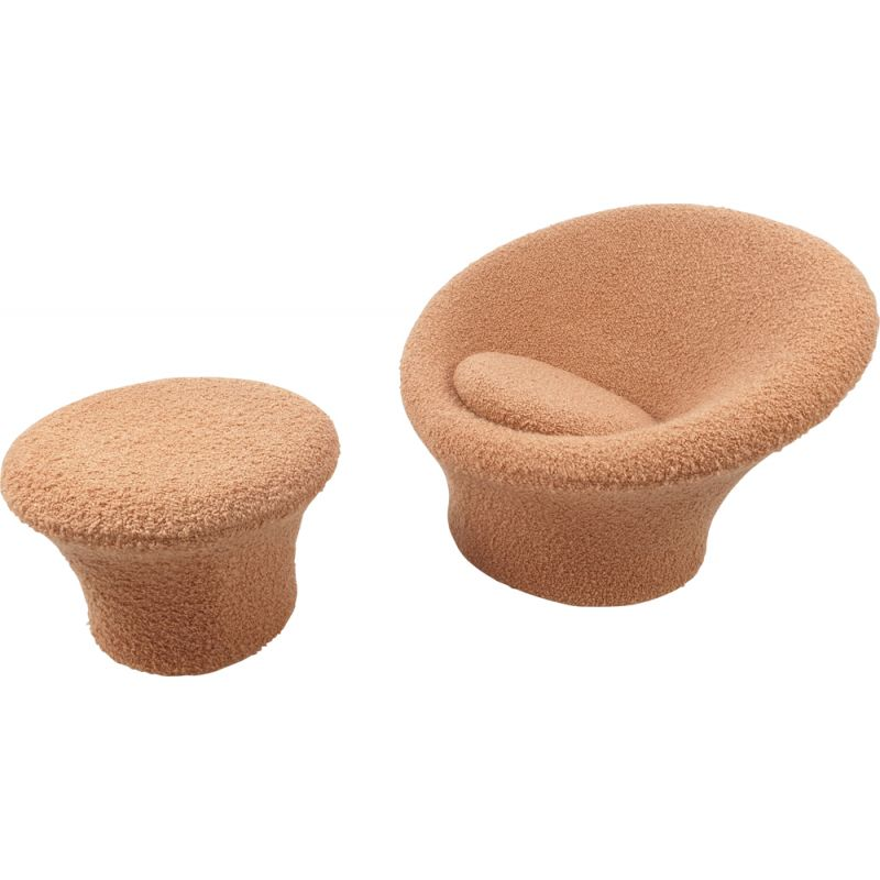 Mushroom Armchair and Ottoman by Pierre Paulin for Artifort, 1960s