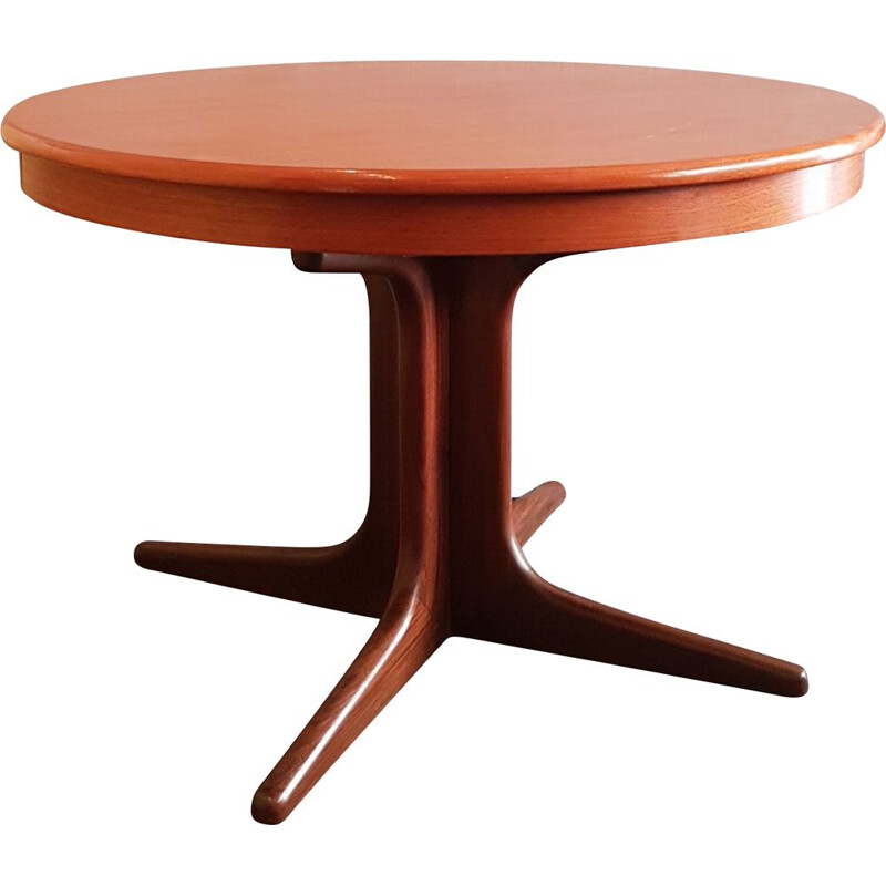 Vintage extendable table by niels koefoed denmark 1960s