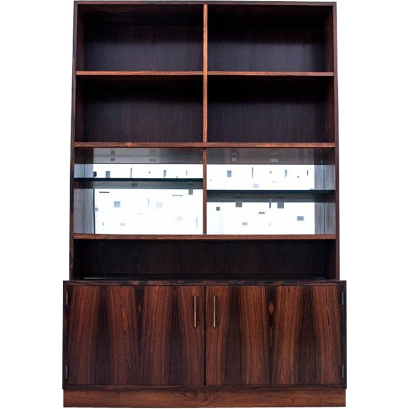 Vintage rosewood bookcase Denmark 1960s