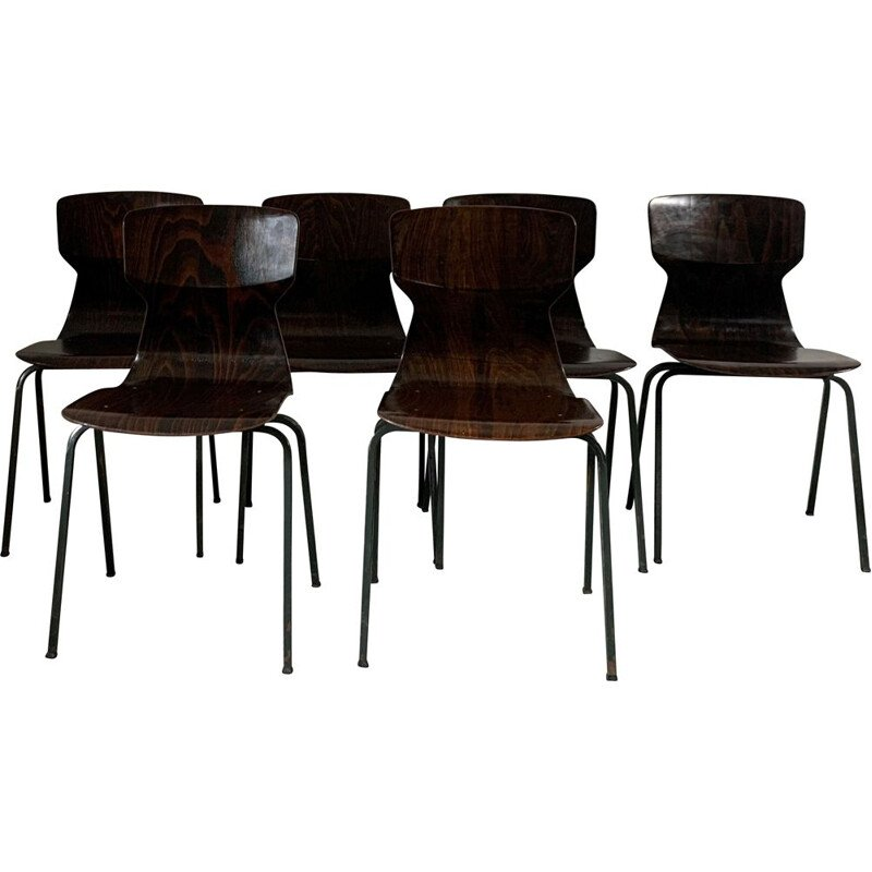 Vintage rosewood chairs 1960s