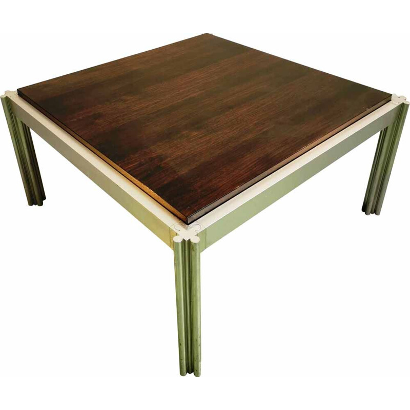 Vintage coffee table  Square by George Ciancimino 1970s