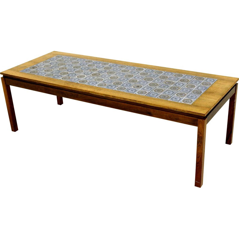 Vintage ceramic coffee table Denmark 1960s