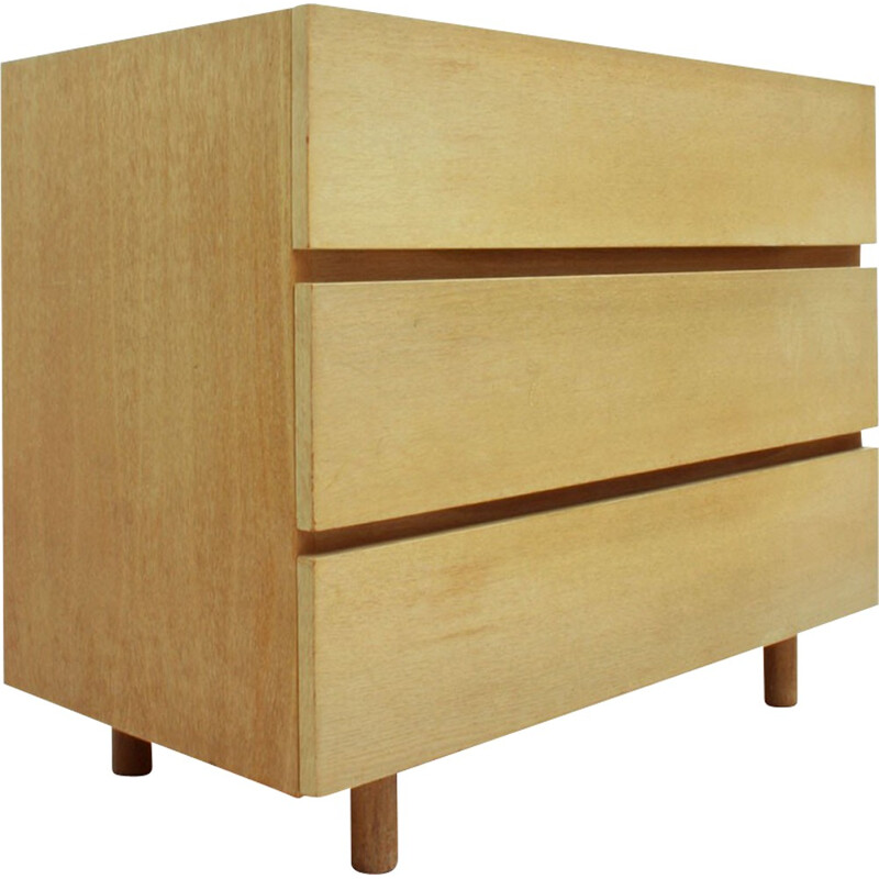 """WK Möbel """"427/6"""" chest of drawers in oak wood, Helmut MAGG - 1960s"""