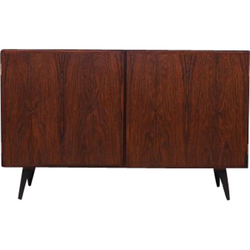 Vintage rosewood chest of drawers by Omann Jun 1970s
