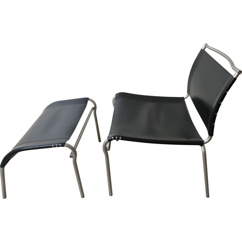 Vintage chaise longue by Calligaris Italy