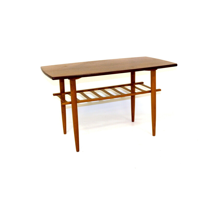 Vintage teak coffee table Sweden 1960s