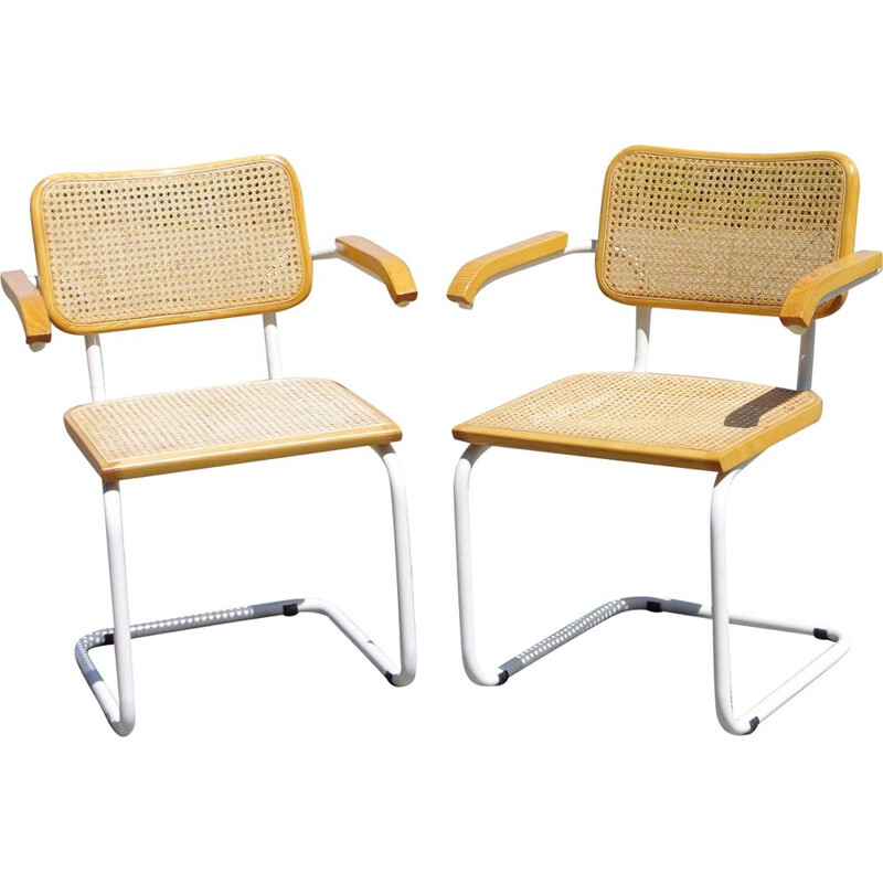 Vintage B64 chairs by Marcel Breuer Italy 1970s