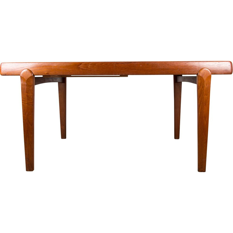 Very large vintage table by Ejvind A. Johansson Denmark 1960s