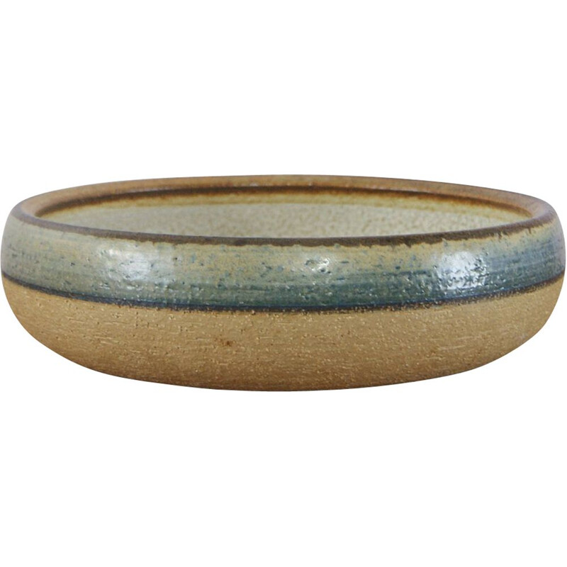 Vintage ceramic bowl by Noomi Backhausen for Søholm 1960s