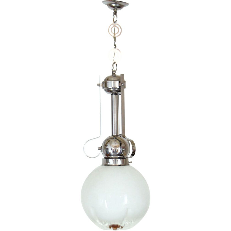 Vintage glass suspension by Mazzega 1970s