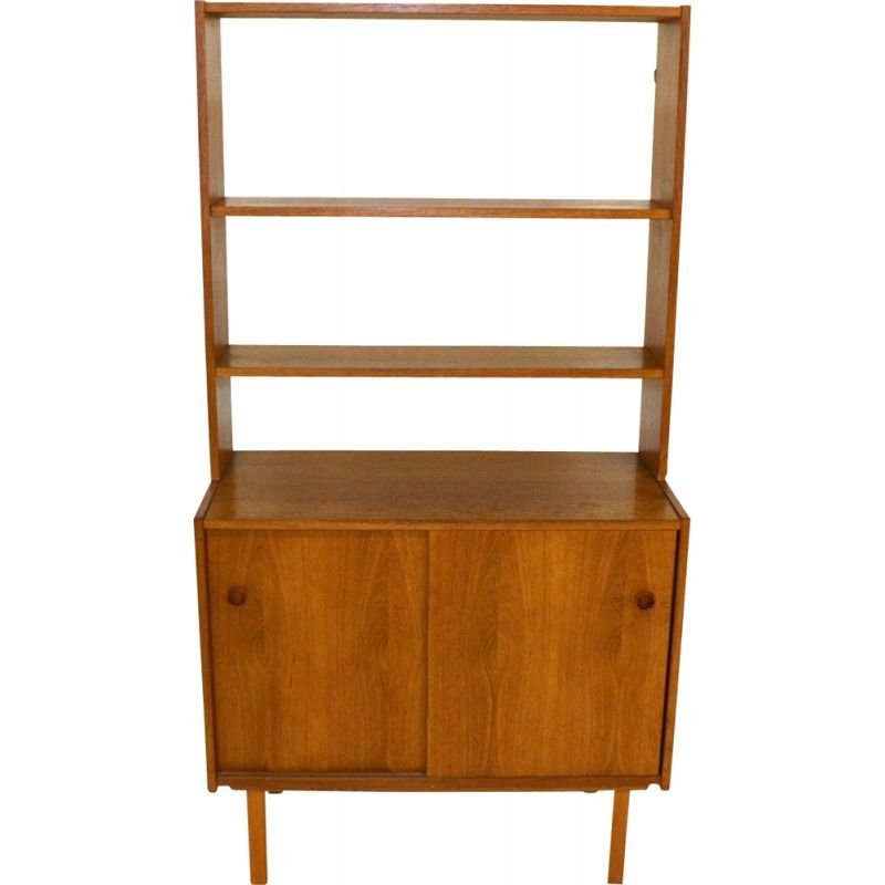 Vintage Sweden  bookcase and chest of drawers set 1960s