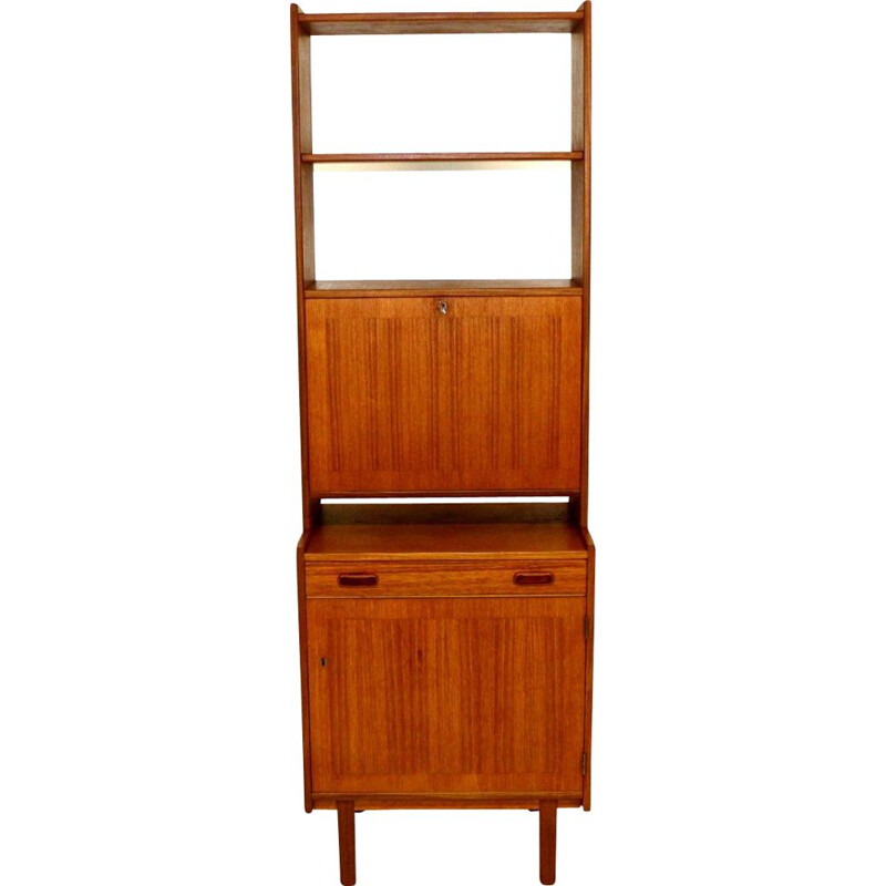 Vintage teak bar furniture Sweden 1960s
