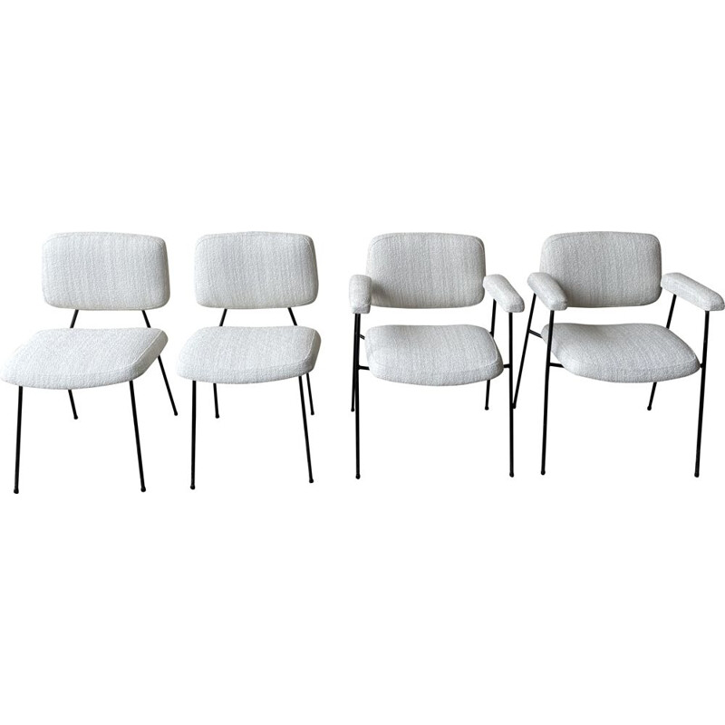 Set of armchairs by Pierre Paulin 1960s