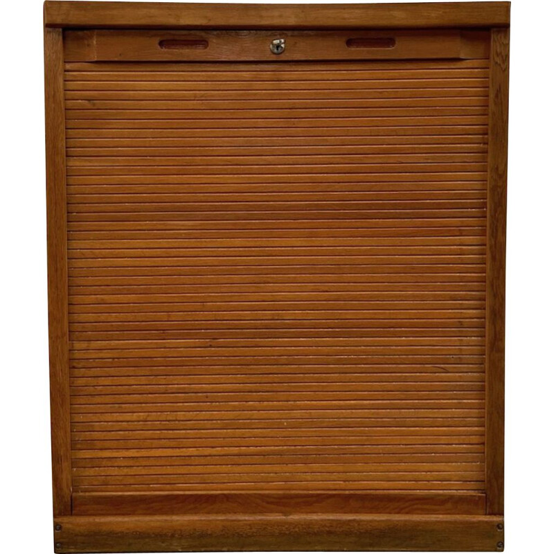 Vintage wardrobe with shutters 1950s