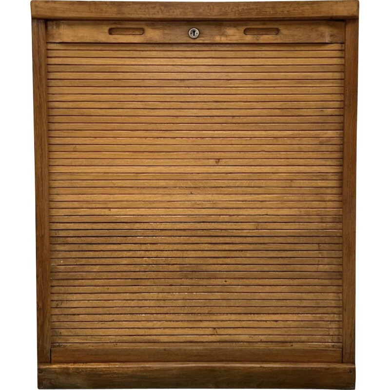 Vintage wardrobe with shutters 1950