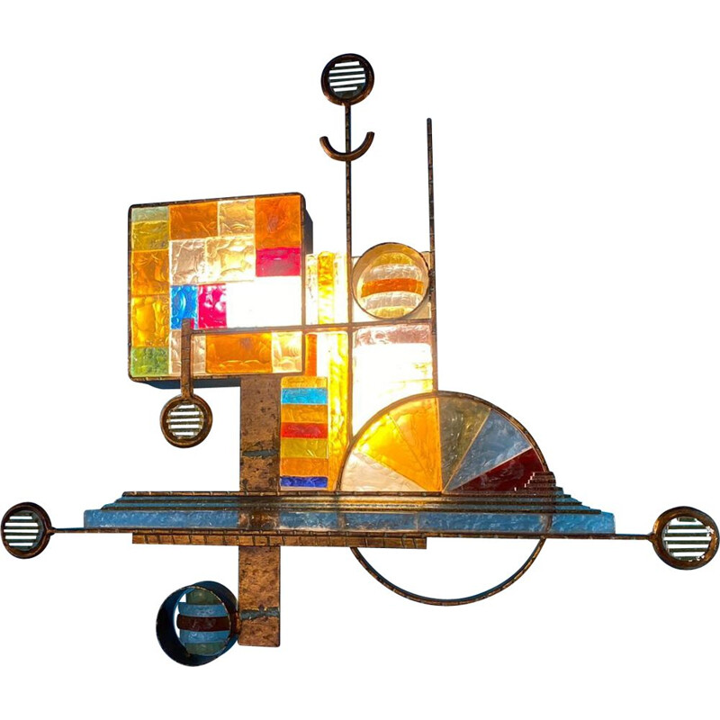 vintage wall lamp Colorful   by Albano Poli