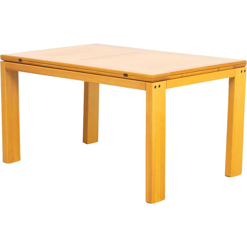 Vintage beech table 1970s