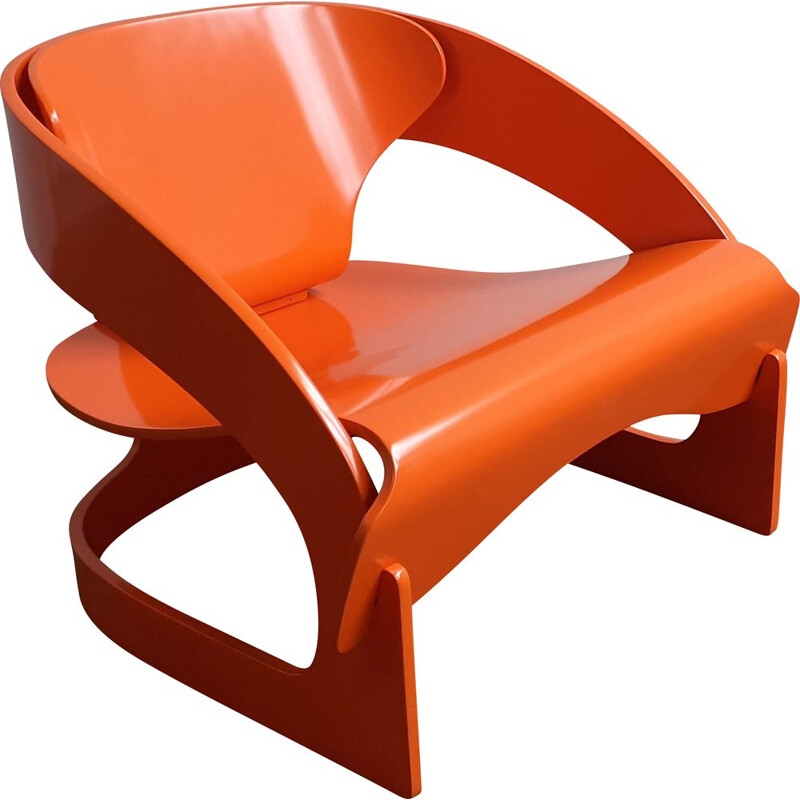 Vintage lounge chair by Kartell 1965s